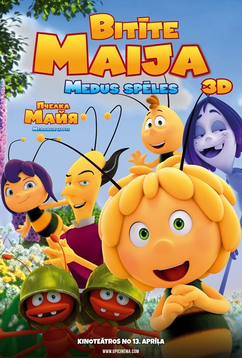 Maya the Bee: The Honey Games - poster