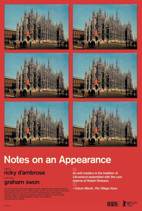 Notes on an Appearance - poster