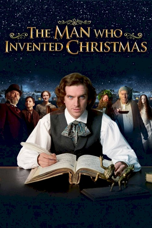 The Man Who Invented Christmas - poster